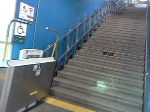 Humetro subway facility for the disable