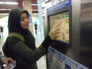 humetro vending ticket machine