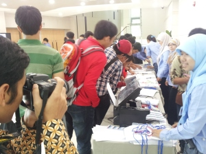 CISAK registration desk