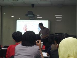 Mr. Hardian's presentation