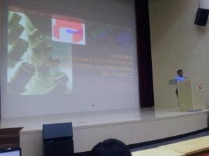 Dr. Warsito's presentation