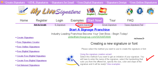 www.mylivesignature.com