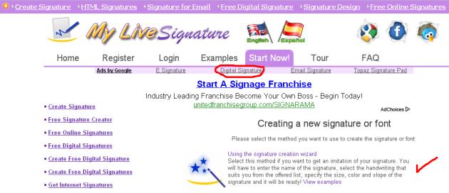 www.mylivesignature.com