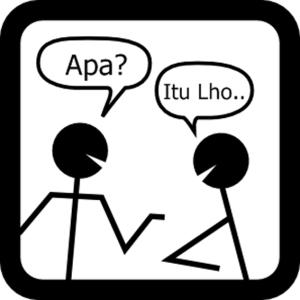 Bergunjing = Ghibah [image: http://goo.gl/jYls2]