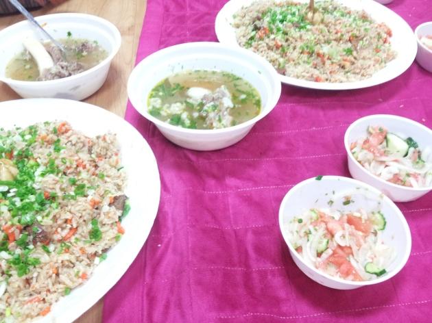 Nasi goreng kambing ala Turkmenistan :9