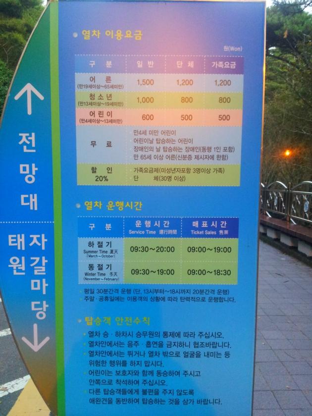Petunjuk mengenai harga dan service time Danubi