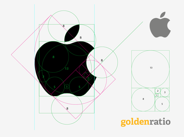 Apple (http://www.banskt.com/blog/golden-ratio-in-logo-designs/)