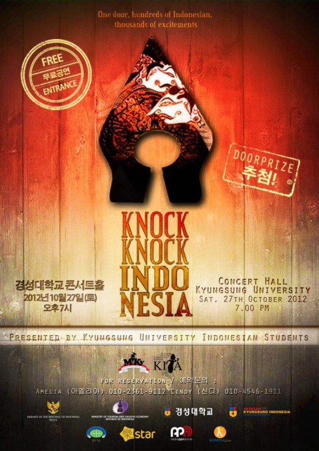 KNOCK KNOCK INDONESIA 2012