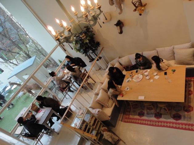 Inside Caffee Oui